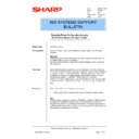 Sharp AR-PB2A (serv.man29) Technical Bulletin