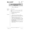 Sharp AR-PB2A (serv.man31) Technical Bulletin