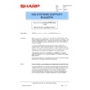 Sharp AR-PB2A (serv.man33) Technical Bulletin