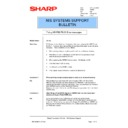 Sharp AR-PB2A (serv.man35) Technical Bulletin
