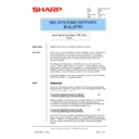 Sharp AR-PB2A (serv.man36) Technical Bulletin