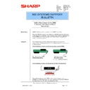 Sharp AR-PB2A (serv.man38) Technical Bulletin