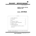 Sharp AR-PB2A (serv.man7) Service Manual