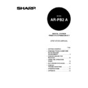 Sharp AR-PB2A (serv.man9) User Guide / Operation Manual