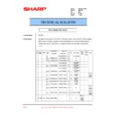 Sharp AR-PB8 (serv.man22) Technical Bulletin