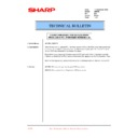 Sharp AR-PB8 (serv.man23) Technical Bulletin