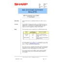 Sharp AR-PB8 (serv.man24) Technical Bulletin