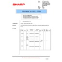 Sharp AR-RP8 (serv.man13) Technical Bulletin