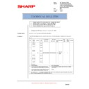 Sharp AR-RP8 (serv.man14) Technical Bulletin