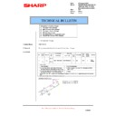Sharp AR-RP8 (serv.man15) Technical Bulletin