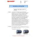 Sharp AR-SP3 (serv.man4) Technical Bulletin