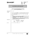 Sharp DM-2000 (serv.man142) Technical Bulletin