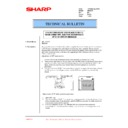 Sharp DM-2000 (serv.man41) Technical Bulletin