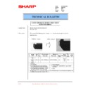 Sharp DM-2000 (serv.man48) Technical Bulletin