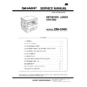 Sharp DM-2000 (serv.man7) Service Manual