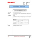 Sharp DM-2000 (serv.man81) Technical Bulletin