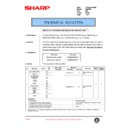 Sharp DM-2000 (serv.man86) Technical Bulletin