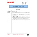 Sharp DM-2000 (serv.man96) Technical Bulletin