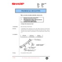 Sharp DM-2000 (serv.man98) Technical Bulletin