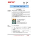 Sharp MX-1800N (serv.man100) Technical Bulletin
