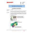 Sharp MX-1800N (serv.man101) Technical Bulletin