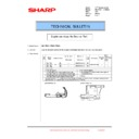 Sharp MX-1800N (serv.man102) Technical Bulletin