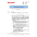 Sharp MX-1800N (serv.man103) Technical Bulletin