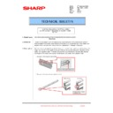 Sharp MX-1800N (serv.man104) Technical Bulletin