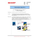 Sharp MX-1800N (serv.man105) Technical Bulletin