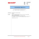 Sharp MX-1800N (serv.man106) Technical Bulletin