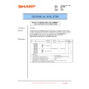 Sharp MX-1800N (serv.man109) Technical Bulletin