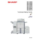 Sharp MX-1800N (serv.man4) Handy Guide