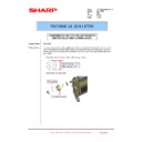 Sharp MX-1800N (serv.man69) Technical Bulletin