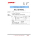 Sharp MX-1800N (serv.man70) Technical Bulletin