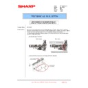 Sharp MX-1800N (serv.man72) Technical Bulletin