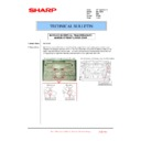 Sharp MX-1800N (serv.man73) Technical Bulletin