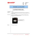 Sharp MX-1800N (serv.man74) Technical Bulletin