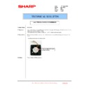 Sharp MX-1800N (serv.man83) Technical Bulletin