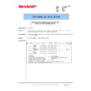 Sharp MX-1800N (serv.man85) Technical Bulletin