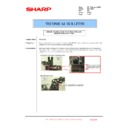 Sharp MX-1800N (serv.man87) Technical Bulletin