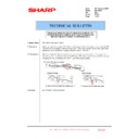 Sharp MX-1800N (serv.man88) Technical Bulletin