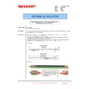 Sharp MX-1800N (serv.man91) Technical Bulletin