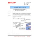 Sharp MX-1800N (serv.man92) Technical Bulletin