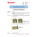 Sharp MX-1800N (serv.man93) Technical Bulletin