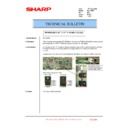 Sharp MX-1800N (serv.man94) Technical Bulletin