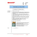 Sharp MX-1800N (serv.man95) Technical Bulletin