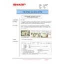 Sharp MX-1800N (serv.man96) Technical Bulletin