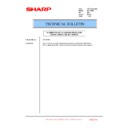 Sharp MX-1800N (serv.man98) Technical Bulletin
