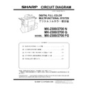Sharp MX-2300N, MX-2700N, MX-2300G, MX-2700G, MX-2300FG, MX-2700FG (serv.man10) Service Manual