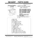 Sharp MX-2300N, MX-2700N, MX-2300G, MX-2700G, MX-2300FG, MX-2700FG (serv.man17) Parts Guide